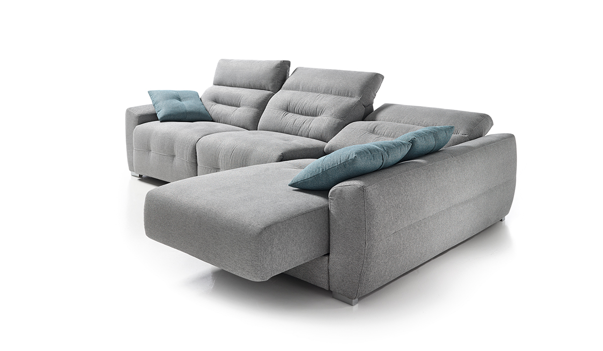 Muebles Tapizados Img Azul Y Blanco Sofa De Tela Tipo De
